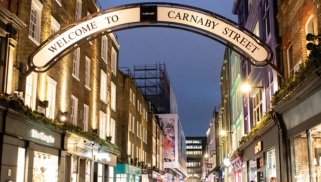 Carnaby-Street-Soho - Best Places to Visit in UK