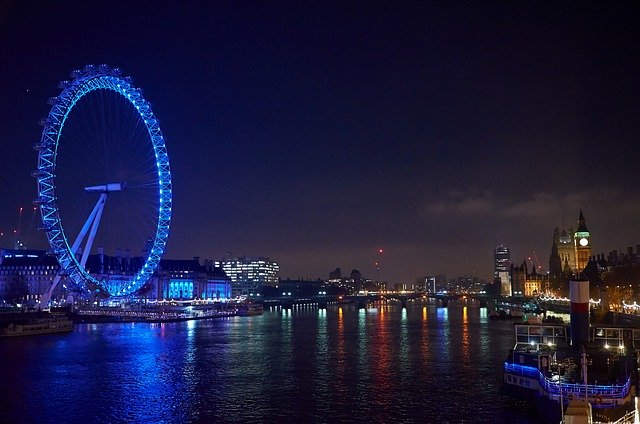 London Eye-Best Places to Visit in UK