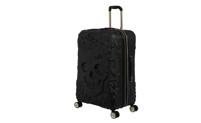 it luggage Skulls II Review - Hardside Expandable Spinner, Black, 3 Piece Set