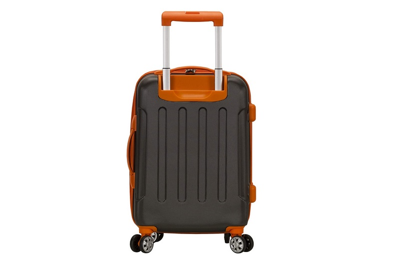 Rockland London Hardside Spinner Wheel Luggage, Charcoal, 3-Piece Set